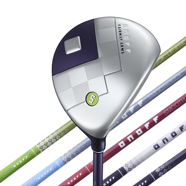 ONOFF FAIRWAY ARMS LADY  カラーバッジ グリーン