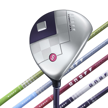 ONOFF FAIRWAY ARMS LADY  カラーバッジ マゼンタ