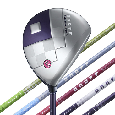 ONOFF FAIRWAY ARMS LADY RADICAL SPOONカラーバッジ マゼンタ
