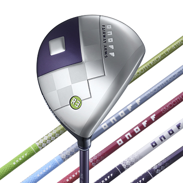 ONOFF FAIRWAY ARMS LADY RADICAL SPOONカラーバッジ グリーン